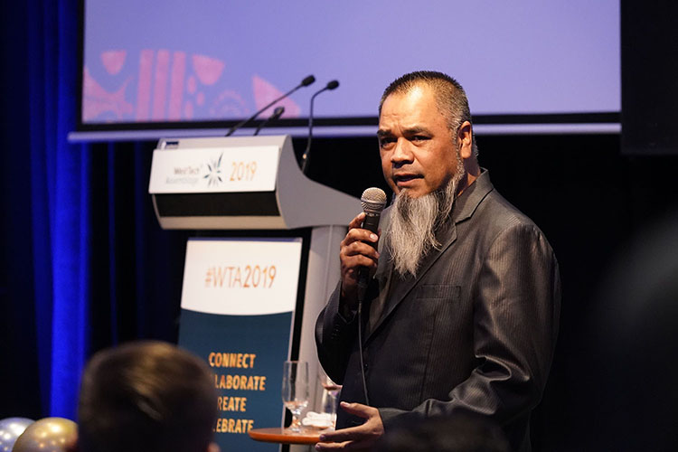 Welcome to country by Shaun Nannup WTA 2019